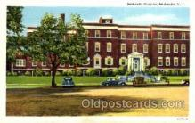 med100490 - Littlefalls Hospital Littlefalls, NY, USA Postcard Post Cards Old Vintage Antique