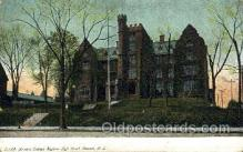 med100492 - Newark Orphan Asylum Newark, NJ, USA Postcard Post Cards Old Vintage Antique