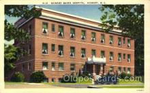 med100494 - Richard Baker Hospital Hickory, NC, USA Postcard Post Cards Old Vintage Antique