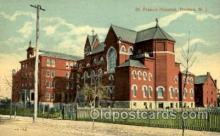 med100508 - Francis Hospital Trenton, NJ, USA Postcard Post Cards Old Vintage Antique