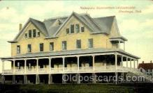 med100512 - Nebraske Sanatorium Adventists Hastings, NE, USA Postcard Post Cards Old Vintage Antique