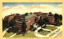 med100517 - North Carolina Baptist Hospital Winston Salem, NC, USA Postcard Post Cards Old Vintage Antique