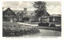 med100518 - Stoney Wold Sanatorium Lake Kushaqua, NY, USA Postcard Post Cards Old Vintage Antique