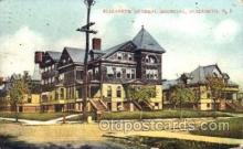 med100520 - Elizabeth General Hospital Elizabeth, NJ, USA Postcard Post Cards Old Vintage Antique