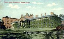 med100522 - General Hospital Boston, MA, USA Postcard Post Cards Old Vintage Antique