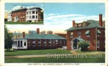med100523 - Hale Hospital, Buttonwood Avenue Haverhill, MA, USA Postcard Post Cards Old Vintage Antique