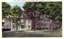 med100526 - Charity Hospital & Nurses Home Savannah, GA, USA Postcard Post Cards Old Vintage Antique