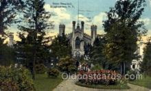 med100528 - State Hospital Binghamton, NY, USA Postcard Post Cards Old Vintage Antique