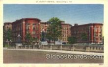 med100530 - St Vincent Hospital Indianapolis, IN, USA Postcard Post Cards Old Vintage Antique