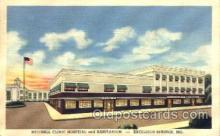 med100533 - Mitchell Clinic Hospital & Sanitarium Excelsior Springs, MO, USA Postcard Post Cards Old Vintage Antique