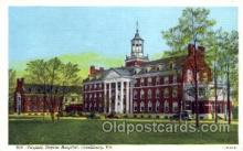 med100535 - Virginia Baptist Hospital Lynchburg, VA, USA Postcard Post Cards Old Vintage Antique