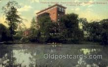 med100536 - Pittsburg Hospital Pittsburgh, PA, USA Postcard Post Cards Old Vintage Antique