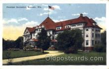 med100539 - Pennoyer Sanitarium Kenosha, WI, USA Postcard Post Cards Old Vintage Antique