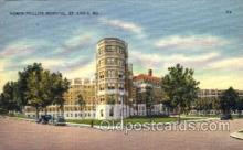 med100549 - Homer Phillips Hospital St Louis, MO, USA Postcard Post Cards Old Vintage Antique