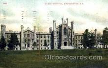 med100553 - State Hospital Binghamton, NY, USA Postcard Post Cards Old Vintage Antique