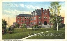 med100555 - City Hospital Wilkes Barre, PA, USA Postcard Post Cards Old Vintage Antique