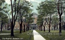 med100557 - City Hospital Rochester, NY, USA Postcard Post Cards Old Vintage Antique