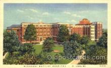 med100561 - Missouri Baptist Hospital St Louis, MO, USA Postcard Post Cards Old Vintage Antique