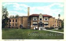 med100562 - Tuberculosis Hospital Lima, OH, USA Postcard Post Cards Old Vintage Antique