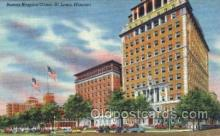 med100563 - Barnes Hospital Group St Louis, MO, USA Postcard Post Cards Old Vintage Antique