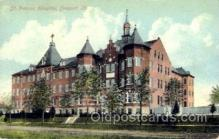 med100564 - St Frances Hospital Freeport, IL, USA Postcard Post Cards Old Vintage Antique