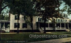 med100568 - Dr Sahler Sanitarium Kingston, NY, USA Postcard Post Cards Old Vintage Antique