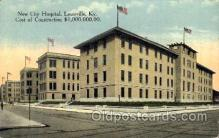 med100571 - New City Hospital Louisville, KY, USA Postcard Post Cards Old Vintage Antique