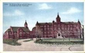 med100574 - St Francis Hospital Colorado Springs, CO, USA Postcard Post Cards Old Vintage Antique