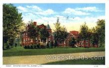 med100579 - Brokaw Hospital Normal, IL, USA Postcard Post Cards Old Vintage Antique