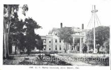 med100584 - US Naval Hospital Mare Island, CA, USA Postcard Post Cards Old Vintage Antique