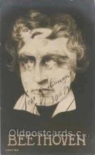 met001002 - Beethoven, Music, Metamorphic postcard postcards