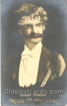 met001027 - Johann Strauss, Music, Metamorphic postcard postcards