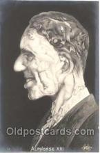 met001033 - Alphonse XIII, Metamorphic postcard postcards