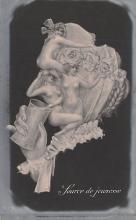 met001175 - Metamorphic Post Card, Old Vintage Antique Postcard