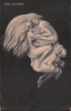 met001211 - Metamorphic Post Card, Old Vintage Antique Postcard