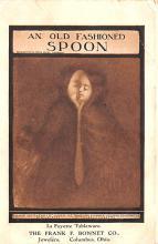 met001265 - Metamorphic Post Card, Old Vintage Antique Postcard
