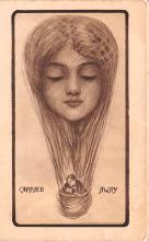 met001271 - Metamorphic Post Card, Old Vintage Antique Postcard
