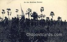 mex001016 - On Border Mexican War Postcard Post Card Old Vintage Antique