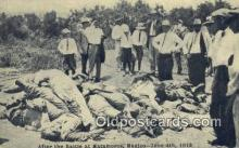 mex001018 - Battle of Matamoros - June 4th 1918 Mexican War Postcard Post Card Old Vintage Antique