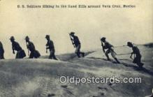 Mexican War, US Soldiers Hiking in the Sand Hills
