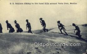mex001049 - Vera Cruz, Mexico Mexican War Postcard Post Card Postal Mexicano Guerra tarjetas postales