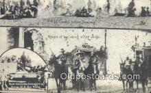 mex001052 - Villas Camp, Juarez Mexican War Postcard Post Card Postal Mexicano Guerra tarjetas postales