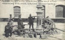 mex001054 - Machine Guns & Rifles Mexican War Postcard Post Card Postal Mexicano Guerra tarjetas postales
