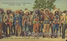 Mexican War, Pancho Villa