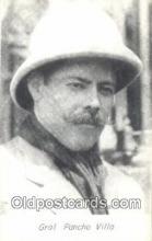 mex001066 - Gral Pancho Villa Mexican War Postcard Post Card Postal Mexicano Guerra tarjetas postales