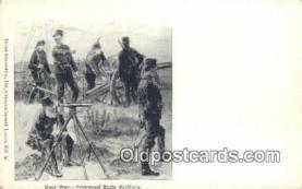 Mexican War, Transvaal State Artillery