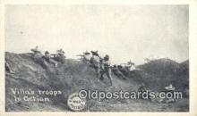 mex001070 - Villas Troops in Action Mexican War Postcard Post Card Postal Mexicano Guerra tarjetas postales