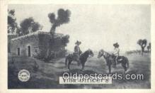 mex001071 - Villa Officers Mexican War Postcard Post Card Postal Mexicano Guerra tarjetas postales