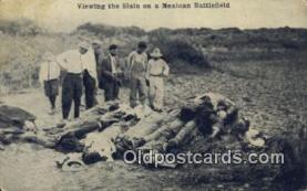 mex001073 - Mexican Battlefield Mexican War Postcard Post Card Postal Mexicano Guerra tarjetas postales