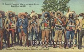 mex001074 - Famous Mexican Chieftan Mexican War Postcard Post Card Postal Mexicano Guerra tarjetas postales